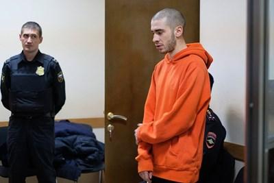 Рапърът Хаски по време на изслушването пред съда за мярката му