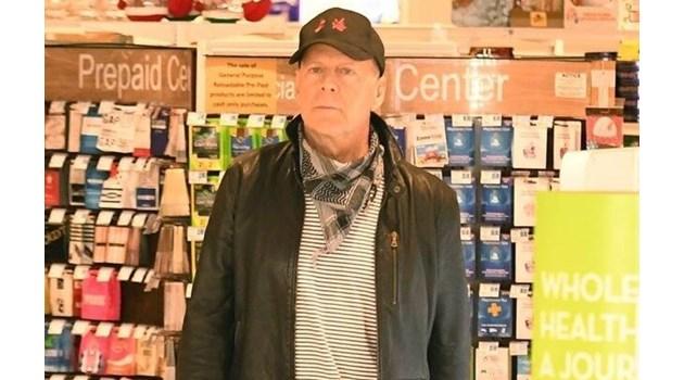 Изгониха Брус Уилис от аптека, бил без маска