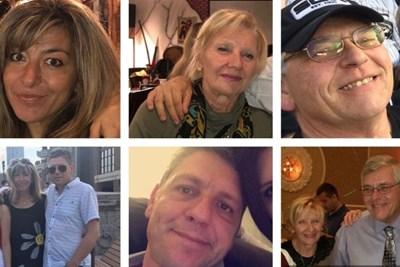 Застреляните българи в Чикаго - младото семейство, майката на Ивайло Попов и нейният американски партньор.