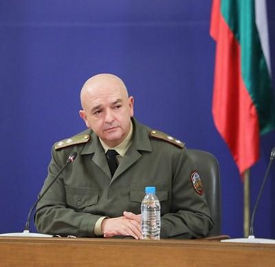 Ген. Венцислав Мутафчийски СНИМКА: Правителствена пресслужба
