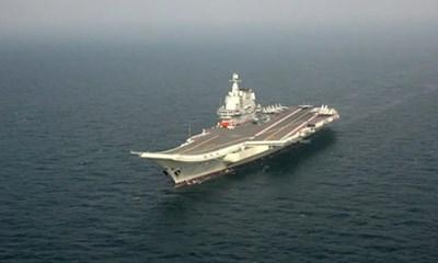"""Вторият китайски самолетоносач """"Шандун"""" излезе на тренировъчна мисия в открито море"""
