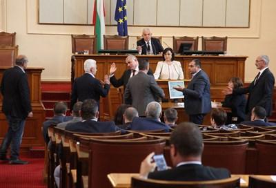 Разгорещен дебат в парламента СНИМКА: РУМЯНА ТОНЕВА