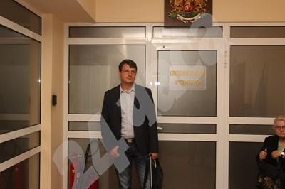 Александър Ваклин в спецсъда  СНИМКА: Николай Литов СНИМКА: 24 часа