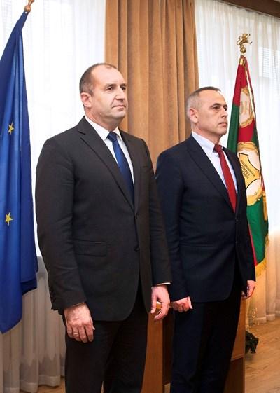 Президентът Румен Радев лично посочи ген. Данчо Дяков за началник на НСО.