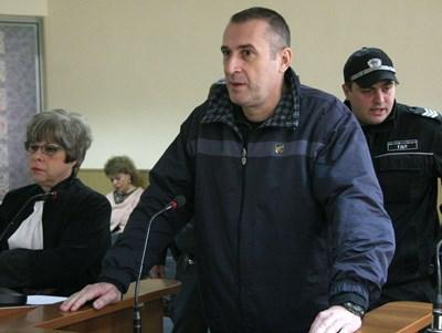 Венцеслав Караджов твърди, че не е убил родителите си СНИМКА: Евгени Цветков