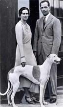 Принцесата със съпруга си