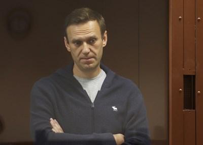 Алексей Навални в съда СНИМКА: РОЙТЕРС