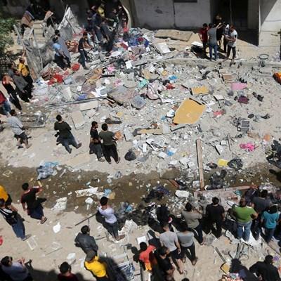 Палестински екстремисти са изстреляли над 1600 ракети по Израел от ивицата Газа от началото на новия изблик на насилие в региона по-рано тази седмица. Снимки: Ройтерс