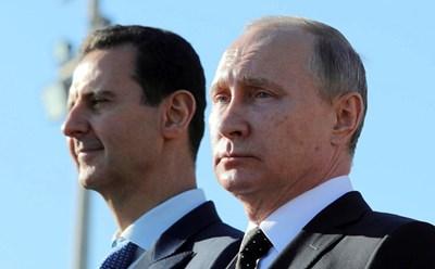 Башар Асад и Владимир Путин Снимка: Ройтерс