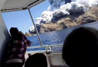 Туристите на круизен кораб се разминаха на косъм от смъртта. СНИМКА: РОЙТЕРС