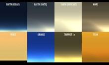 Как изглеждат залезът, гледан от Венера, Марс, Уран и Титан (Видео)