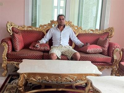 Кирил Рашков, внук на цар Киро, на една от снимките на страницата си във Фейсбук.