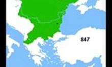 Виж как се е променяла територията на България (видео)