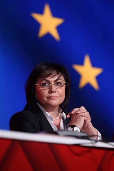Корнелия Нинова СНИМКА: пресцентърът на БСП