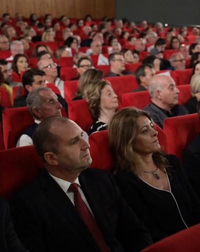 Румен и Десислава Радеви СНИМКИ: Прессекретариатът на президента