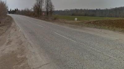 Пътят Ловеч - Плевен СНИМКА: Google Street View
