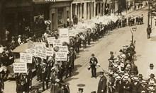 Приликите между парад от 1918 г. и днешните бунтове в САЩ