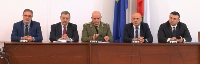 Националният оперативен щаб отговори на въпроси за коронавируса