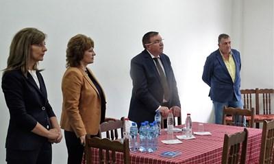 Проф.Костадин Ангелов и кандитати от листата на ГЕРБ се срещнаха с бизнеса