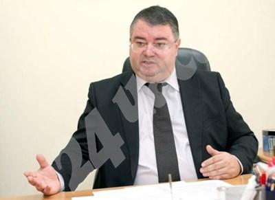 Ивайло Иванов е единственият кандидат за управител на Националния осигурителен институт. СНИМКА: 24 часа