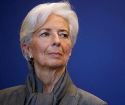 Директорката на Международния валутен фонд (МВФ) Кристин Лагард СНИМКА: Ройтерс