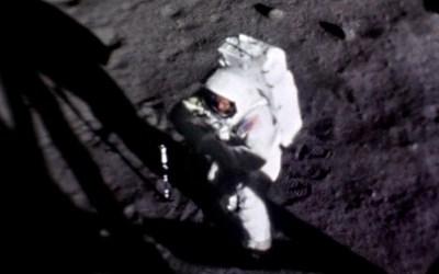 Нийл Армстронг на Луната СНИМКА: НАСА