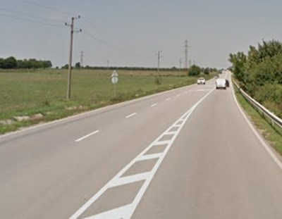 Пътят Русе - Разград СНИМКА: Google Street View
