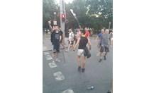 ГЕРБ: След митинга върху автобусите беше извършен истински погром (Видео)