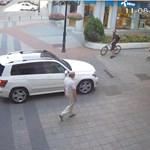 Джипът на турския шофьор.