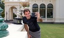 """""""Старчето"""" Федерер е звяр  на корта, агънце вкъщи и шантав тип на улицата"""