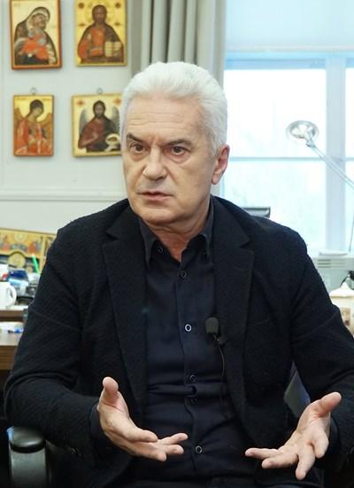 ВОЛЕН СИДЕРОВ СНИМКА: Десислава Кулелиева