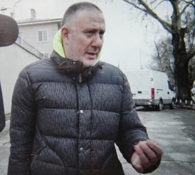 """Д-р Иван Димитров прекара 4 дни в ареста, след което излезе на свобода с мярка за неотклонение """"подписка"""". СНИМКА: Евгени Цветков"""
