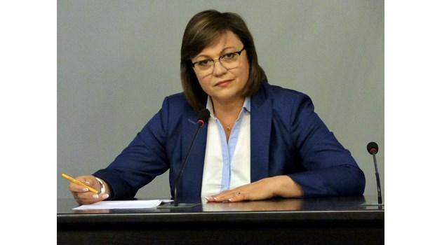 Корнелия Нинова отново е лидер, но с подкрепа само от половината партия (обзор)
