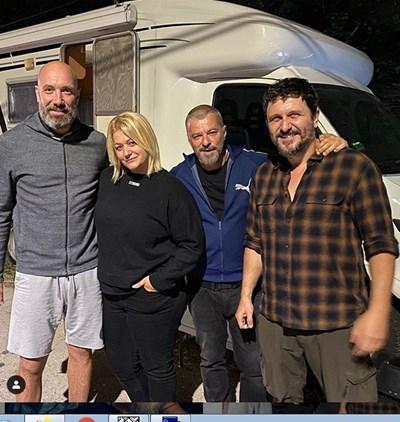 Асен Блатечки, Захари Бахаров и Мариан Вълев участват в сръбския филм.