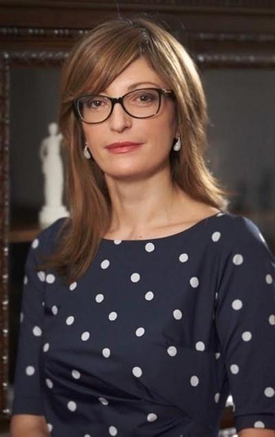 Екатерина Захариева. Снимка Архив