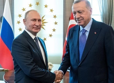 Владимир Путин и Реджеп Тайип Ердоган СНИМКА: РОЙТЕРС