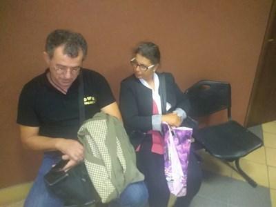 Андреас и Таня в съда СНИМКА: Анелия Перчева