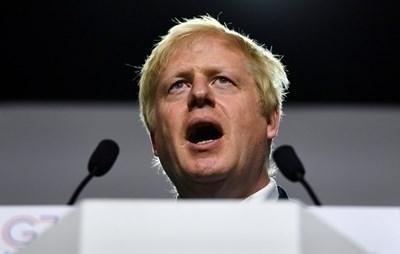 Британският премиер Борис Джонсън СНИМКА: Ройтерс