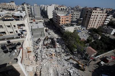 Ивицата Газа СНИМКА: РОЙТЕРС