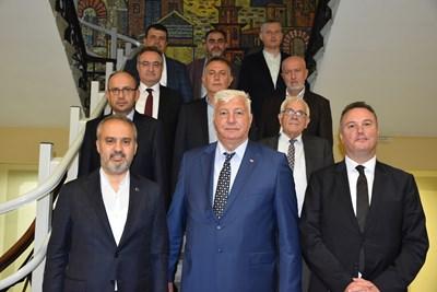 Здравко Димитров с гостите от Бурса.