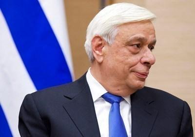 Гръцкият президент Прокопис Павлопулос СНИМКА: Ройтерс