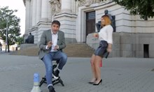 Башар Рахал приканва студенти да станат журналисти в сексистки клип (Видео)