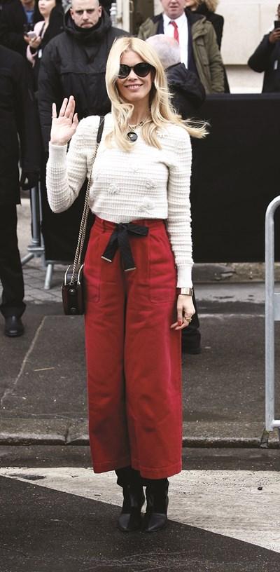 Широките панталони са популярни сред холивудските звезди. СНИМКИ: РОЙТЕРС