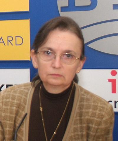 Д-р Мими Виткова, председател на УС на Асоциацията на лицензираните дружества за доброволно здравно осигуряване и бивш министър на здравеопазването