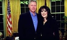 Моника Люински продуцира филм за сексаферата с Бил Клинтън. Показват в ефир синята рокля със семенната течност