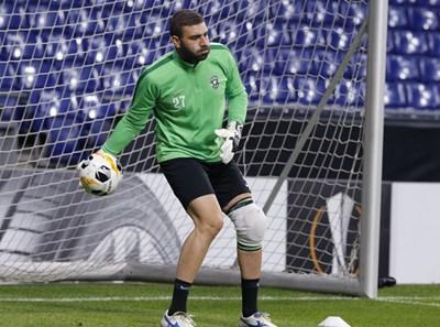 Владислав Стоянов се завърна в игра близо 1000 дни след контузията си. СНИМКА: Клубен сайт