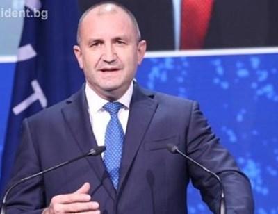 Румен Радев СНИМКА: Прессекретариат на президенството