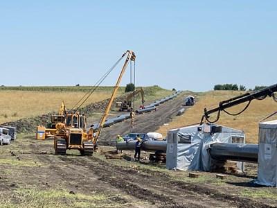 Ударните инвестиции в газопроводи ще бъдат през тази и следващата година.
