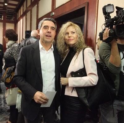 Деси Банова и Росен Плевнелиев на представянето на книгата на Стоичков  СНИМКИ: ЙОРДАН СИМЕОНОВ И M3 COMMUNICATIONS GROUP