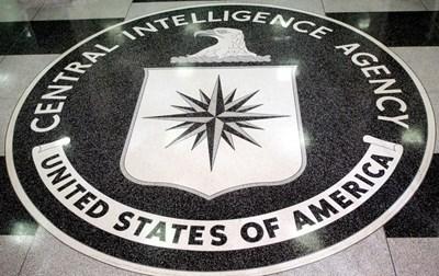 Логото на ЦРУ в централата в Ленгли  СНИМКИ: РОЙТЕРС
